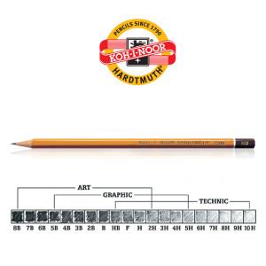 Koh-i-Noor olovka 1500 Hardtmuth 3B-0
