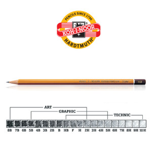 Koh-i-Noor olovka 1500 Hardtmuth 9H-0