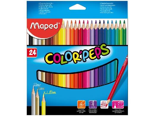 MAPED Bojice Color Peps 1/24 183224-0