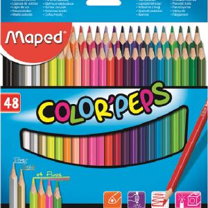 MAPED Bojice Color Peps 1/48 832048-0