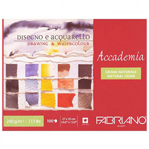 Fabriano drawing&aquarell 240g 27x35/100L 42402735-0