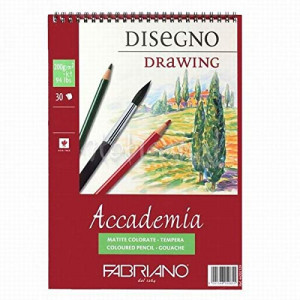 Fabriano Drawing 200g SP 14.8x21/30L 44201421-0