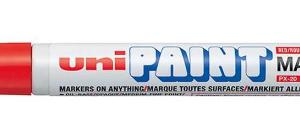 Uni PAINT marker PX-20, red-0