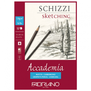 Fabriano sketching 120g 21x29.7/50L 41122129-0