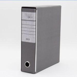 BIROLINE Registrator A4 široki u kutiji sivi-0