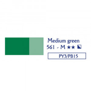 LEFRANC LOUVRE Oil colour 561 medium green-0