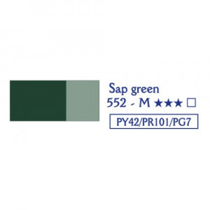 LEFRANC LOUVRE Oil colour 552 sap green-0