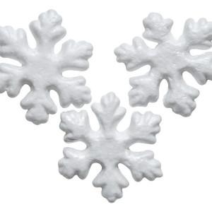 CREATIV craft stiropor pahulje 6.5cm 3kom 137734-0