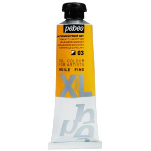 Pebeo oil colour Studio XL 937 03 cadmium yellow deep hue-0