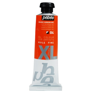 Pebeo oil colour Studio XL 937 04 cadmium orange hue-0