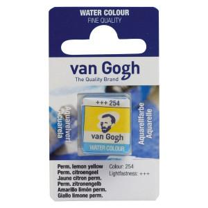 TALENS Van Gogh akvarel 687 254 permanent lemon yellow-0