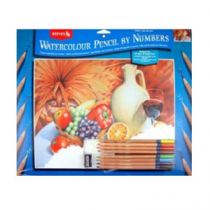 REEVES Watercolour Pencil by Numbers PPWP1-0