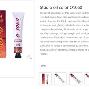 MAGI-WAP Oil colour 60ml 089 silver-0