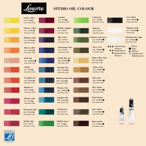 LEFRANC LOUVRE Oil colour 440 permanent rose-0