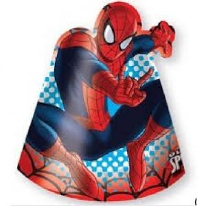 PARTY Spiderman kapice 81537-0