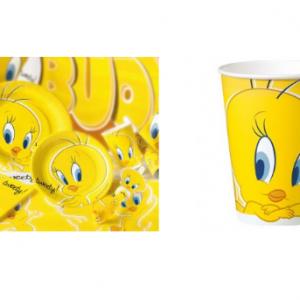 PARTY Looney Tunes Tweety čaše 115839-0