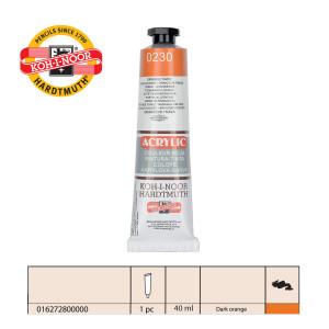 KOH-I-NOOR Acrylic 230 162728 orange dark-0