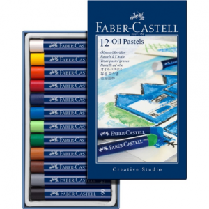 Faber Castell oil pastel crayons 127012-0