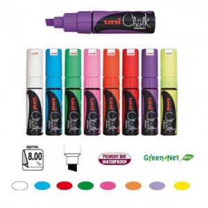 Uni CHALK PWE-8K fluo green-0