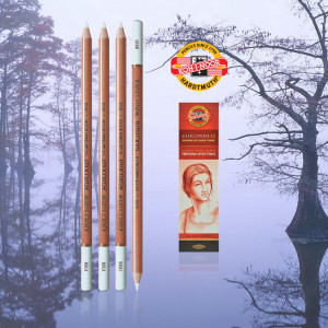 KOH-i-NOOR Gioconda 8801 white chalk-0