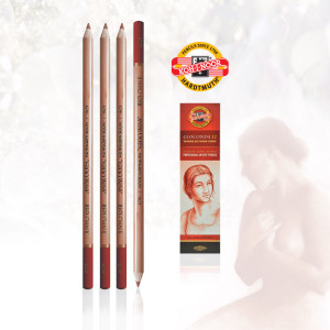 KOH-i-NOOR Gioconda 8802 red chalk-0