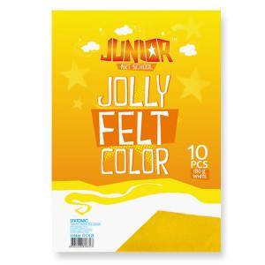 Eva felt A4 135020 yellow-0
