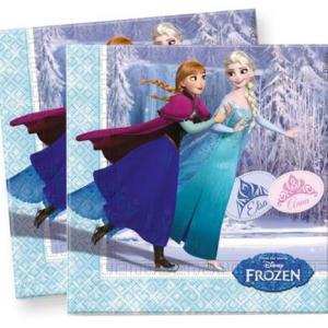 PARTY Frozen salvete 485429-0