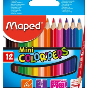MAPED bojice Color Peps 1/12 mini 832500-0