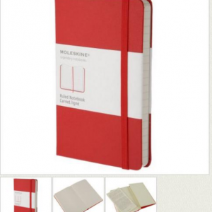 MOLESKINE Classic Collection Notebook red S 93000-0
