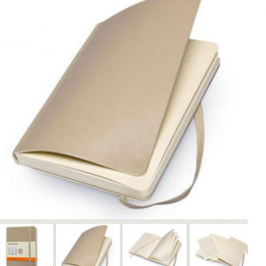 MOLESKINE Soft cover Notebook beige 32350-0