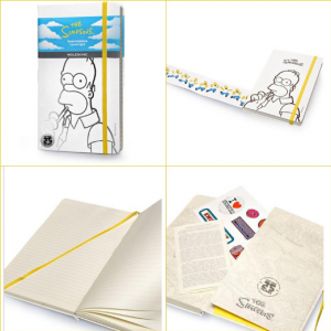 MOLESKINE The Simpsons Notebook L 32430-0