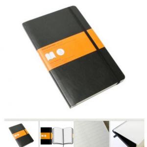 MOLESKINE Soft Cover Notebook black 70716-0
