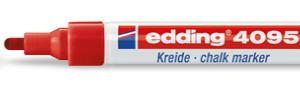 Edding marker chalk E-4095 002 red-0