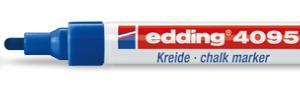 Edding marker chalk E-4095 003 blue-0
