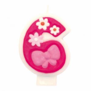 PARTY Birthday Girl svećica broj 6 551746-0