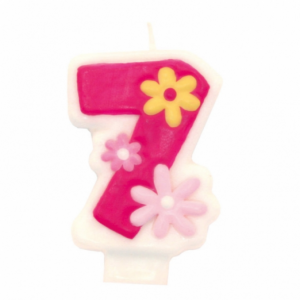 PARTY Birthday Girl svećica broj 7 551747-0