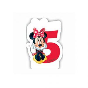 PARTY Minnie Mouse Birthday svećica broj 5 482924-0