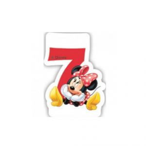 PARTY Minnie Mouse Birthday svećica broj 7 482926-0