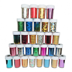 CREATIV craft 137850 glitter tubs-0
