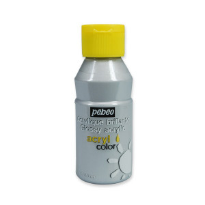 Pebeo Acryl Color Metallic 3741-17 silver-0