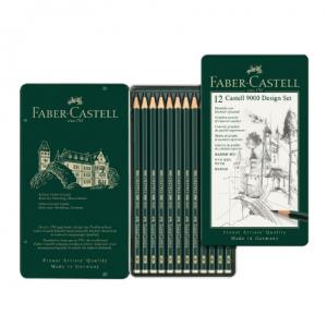 Faber Castell 9000 Graphite Pencils set 1/12 119064-0