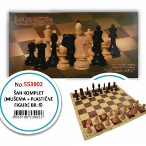 Caissa šah set 553902-0