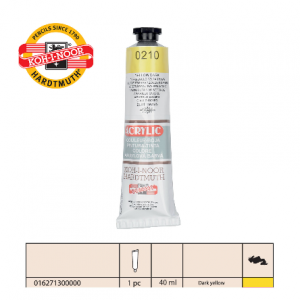 KOH-I-NOOR Acrylic 210 162713 dark yellow-0
