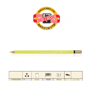 KOH Aquarell Mondeluz 3720/2 lemon yellow-0