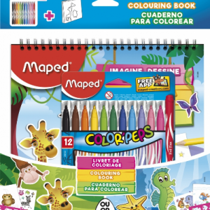 MAPED Flomasteri Jungle set 845432-0
