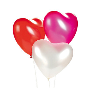 PARTY Baloni Hearts 710682-0