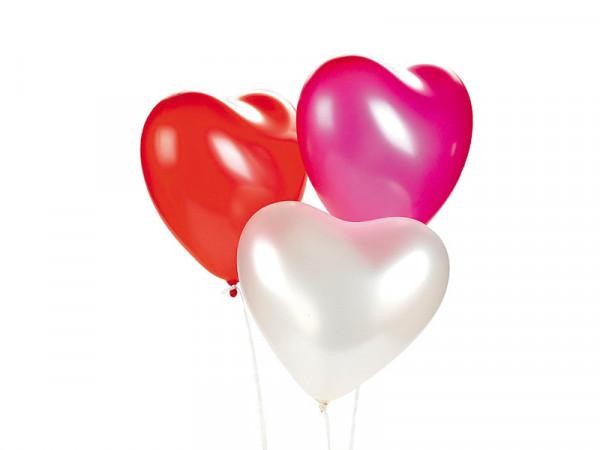 PARTY Baloni Hearts 710682-0