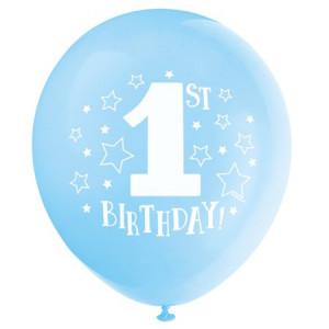 PARTY Baloni Happy 1st birthday 315349 boy-0