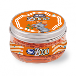 *MAS Zoo office set 608 orange-0