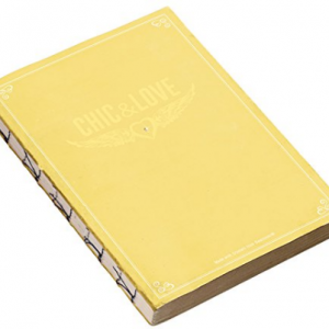 *MIQUEL RIUS Chic&Love Notebook Vintage 100014 yellow-0